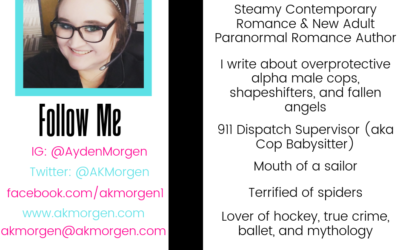 Author Ayden K. Morgen – Introduction