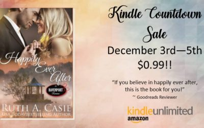 Author Ruth A. Casie – Happily Ever After – Kindle Countdown