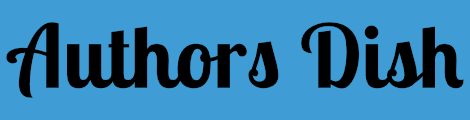 Authors Dish Logo (Blue)