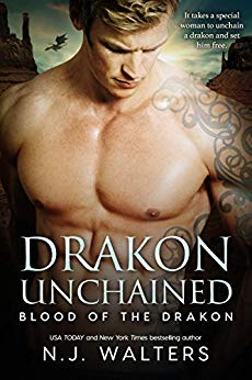 Drakon Unchained by N.J. Walters cover