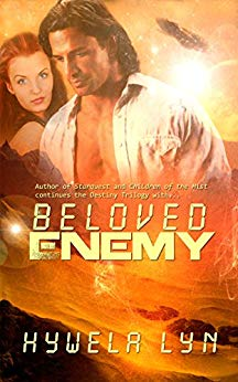 Beloved Enemy by Hywela Lyn cover