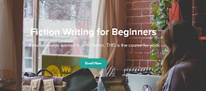 Want to learn how to write? Sign up for 'Fiction Writing for Beginners'