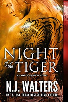 Night of the Tiger by N.J. Walters cover