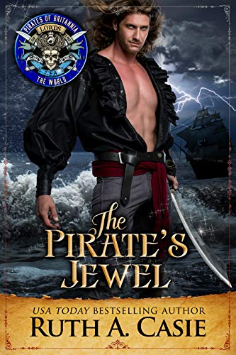The Pirate's Jewel by Ruth A. Casie cover