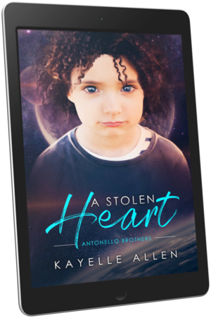 What are you doing in my shower? #Excerpt from A Stolen Heart by @KayelleAllen #SciFi #MM