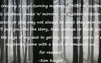 Romantic Crime Thriller, Mystery and Suspense: by Kim Knight