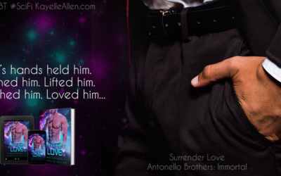 A *hot* breakfast with Luc #Excerpt Surrender Love #SciFi #MMromance